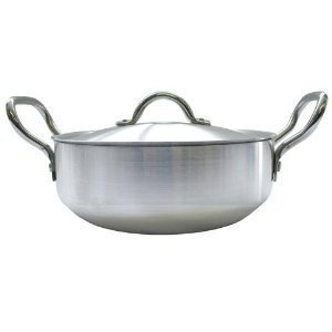 Klassic Karahi 26cm (10″) Aluminum Cooking Pot