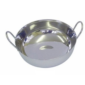 Stainless Steel Balti Dishes 15cm (6″) – Set Of 6