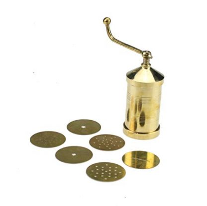 Brass Sev Sancha with 6 Different Disc Plates