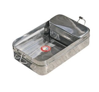 Rectangular Indian-Tiffin Box Stainless Steel