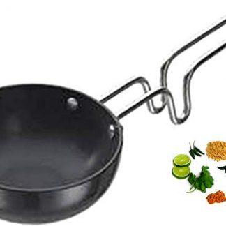 Shradha Hard Anodized Tadka Pan, Large