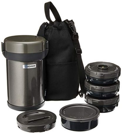 Zojirushi Stainless Steel Vacuum Insulated Tiffin Box