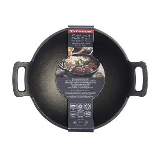 Typhoon Cast Iron Karahi with Large Handles